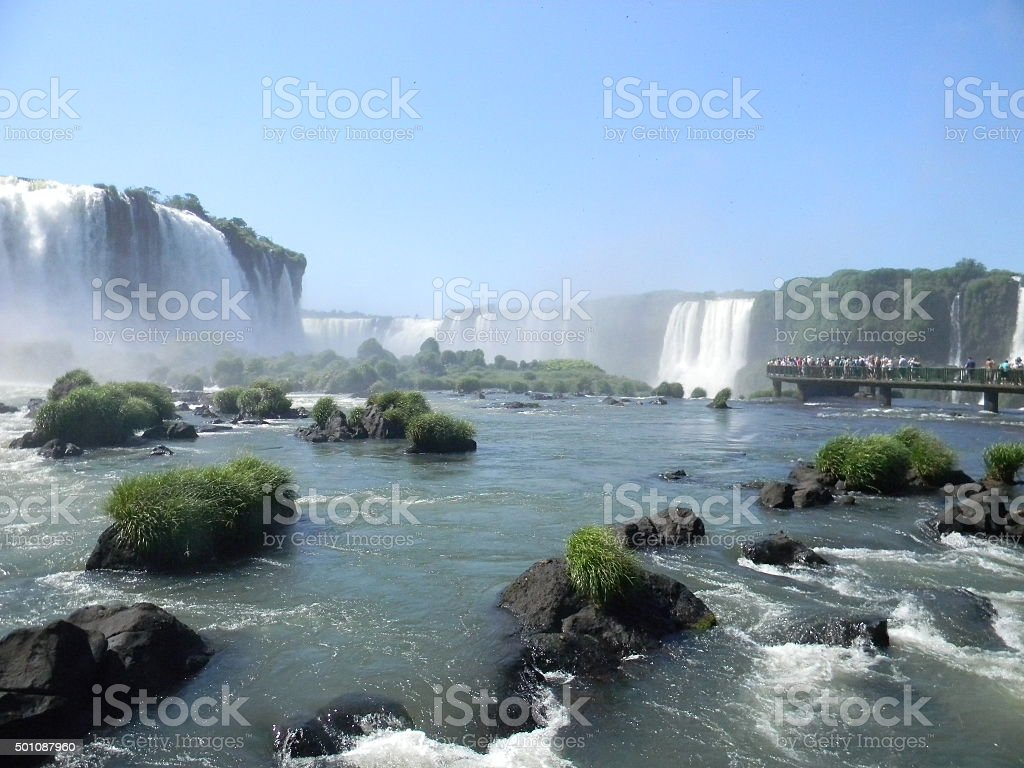 Iguaçu Falls stock photo