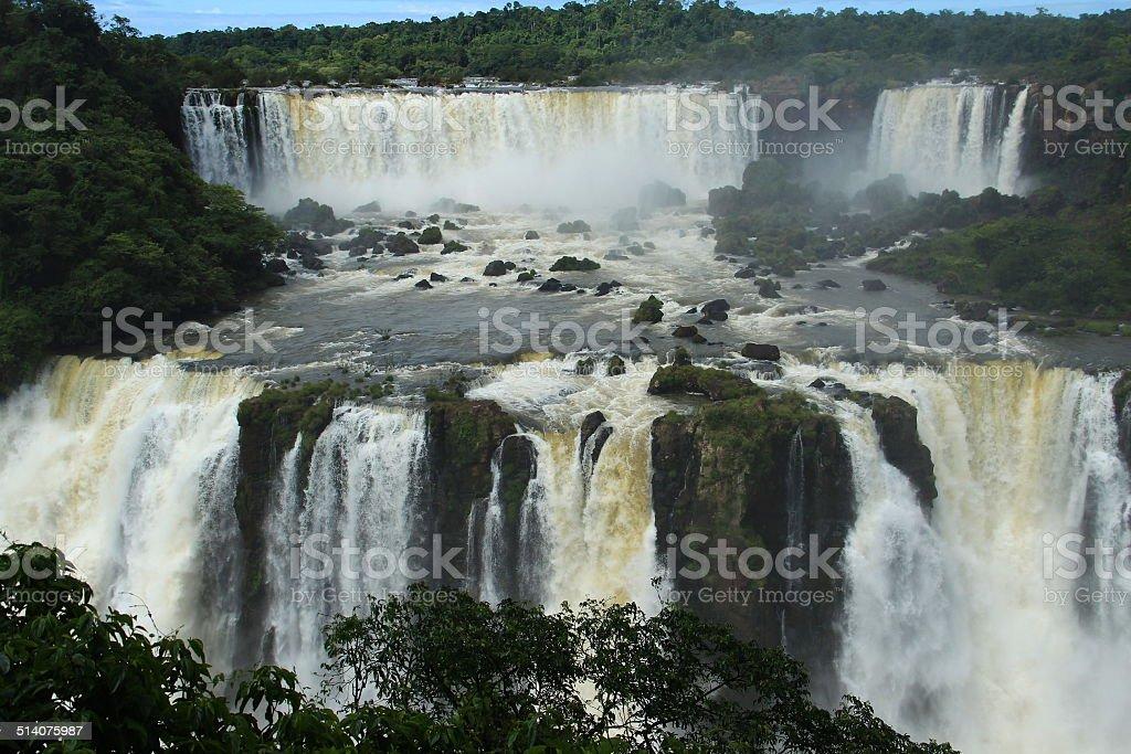 Iguaz? Falls stock photo
