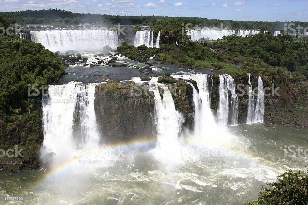 Iguaz? waterfalls royalty-free stock photo