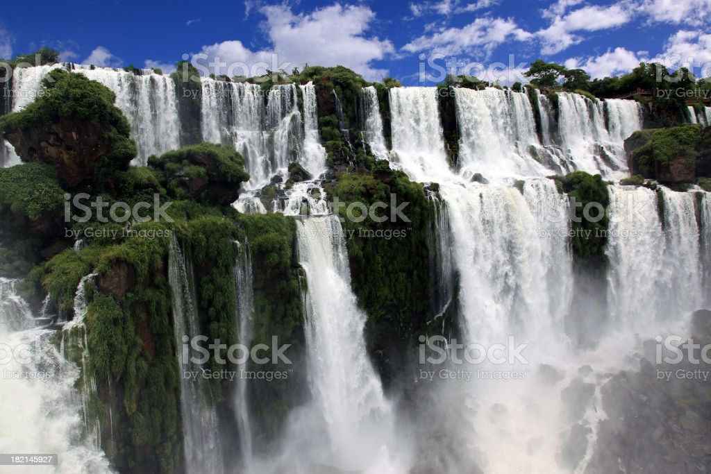 Iguazu Falls, Argentina Side stock photo