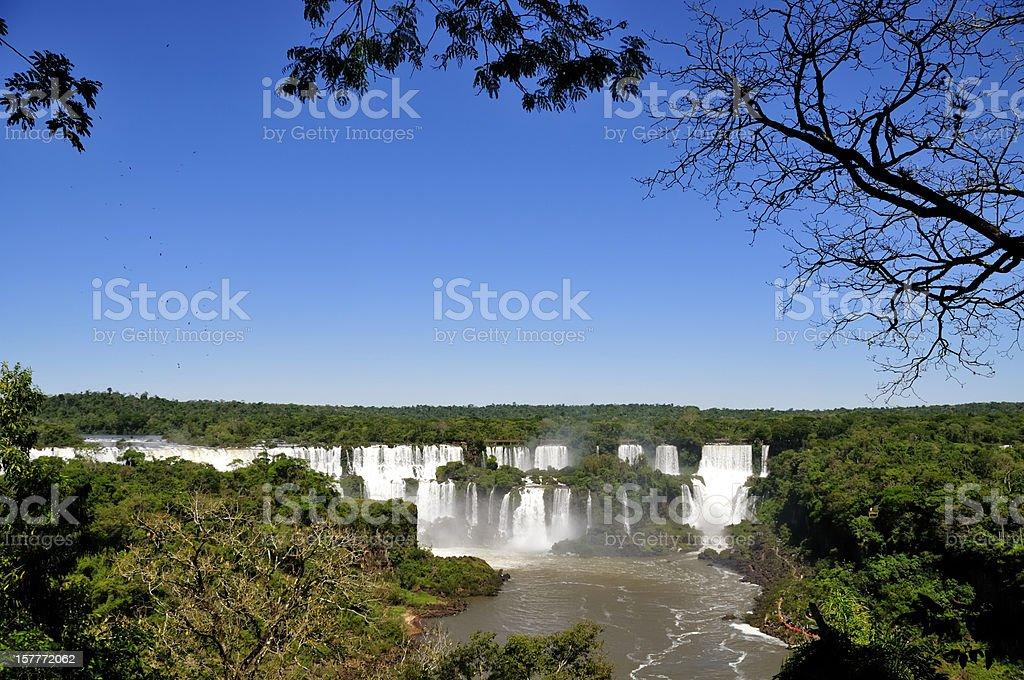 Iguazu Falls stock photo