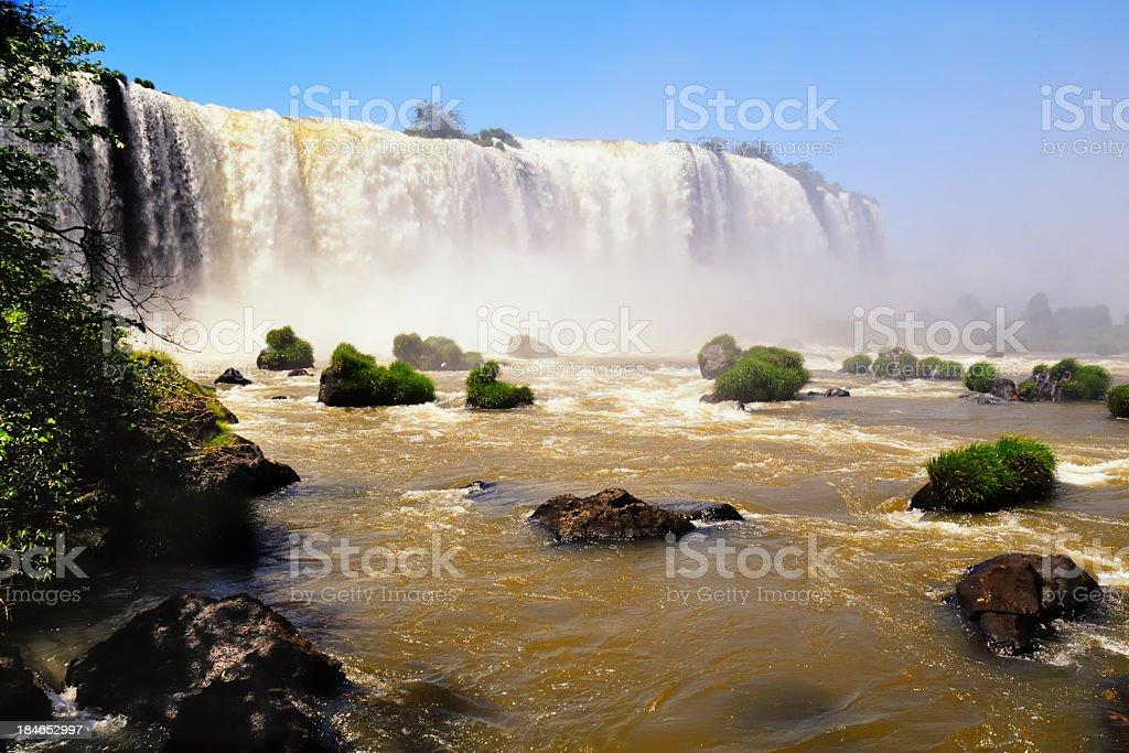 Iguazu falls royalty-free stock photo
