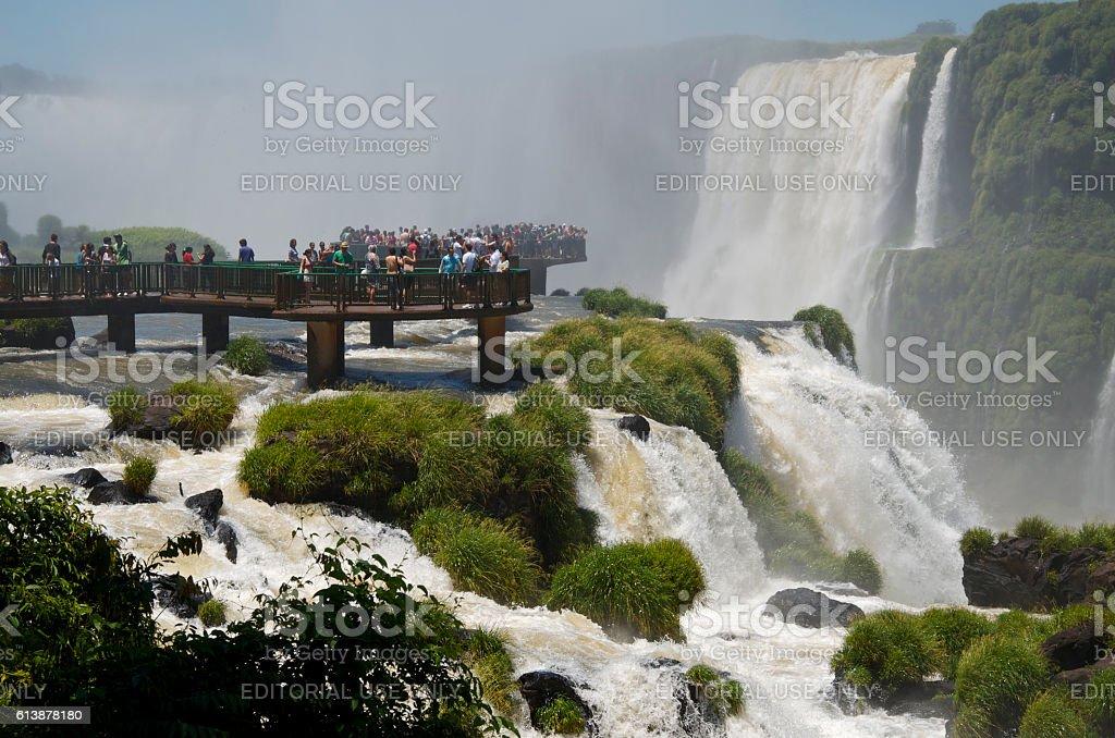 Cataratas do Iguaçu stock photo