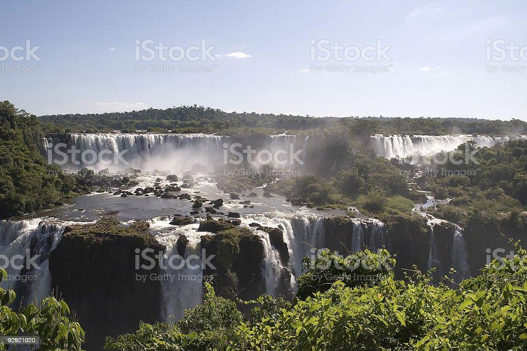 Iguazu Falls, South America royalty-free stock photo