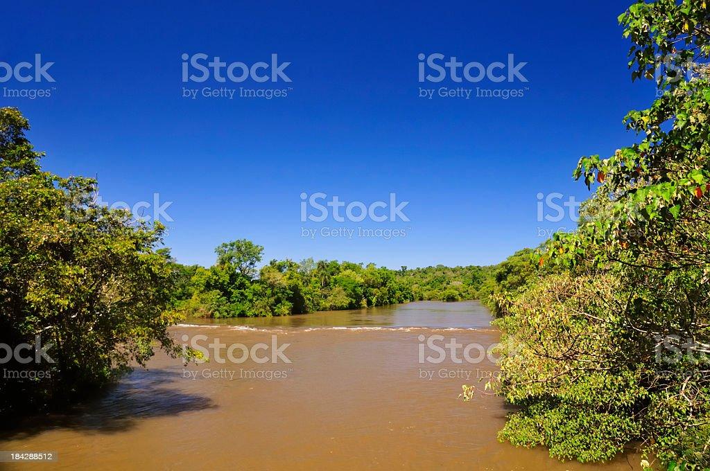 Iguazu river royalty-free stock photo