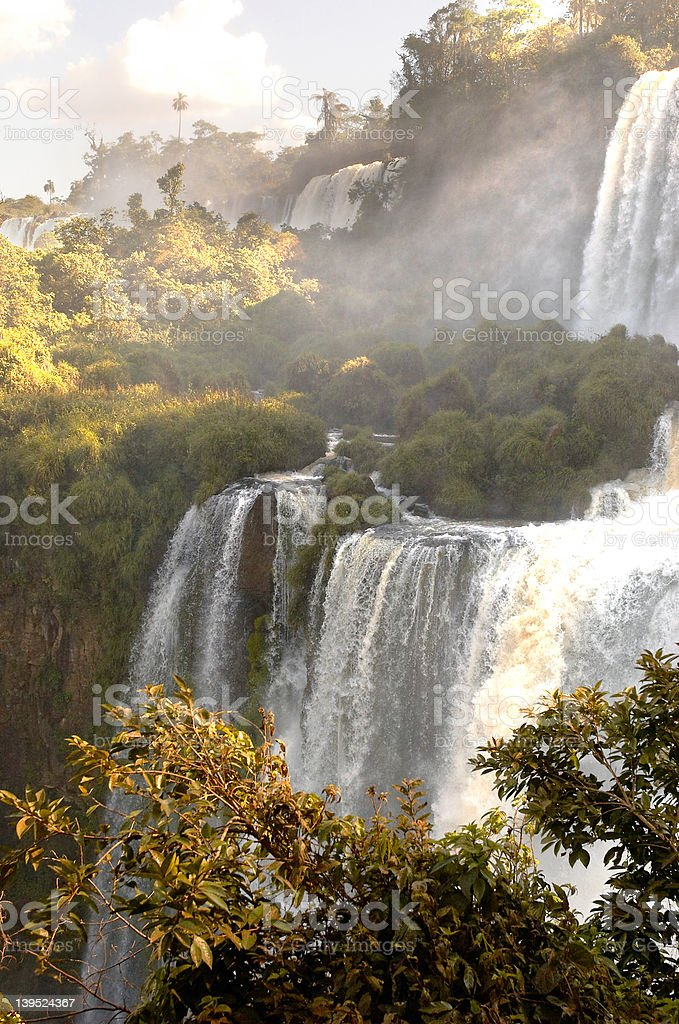Iguazzu Falls 4 royalty-free stock photo