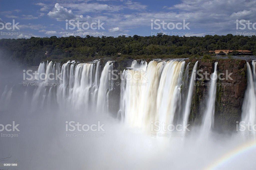 Iguazzu Falls 5 royalty-free stock photo