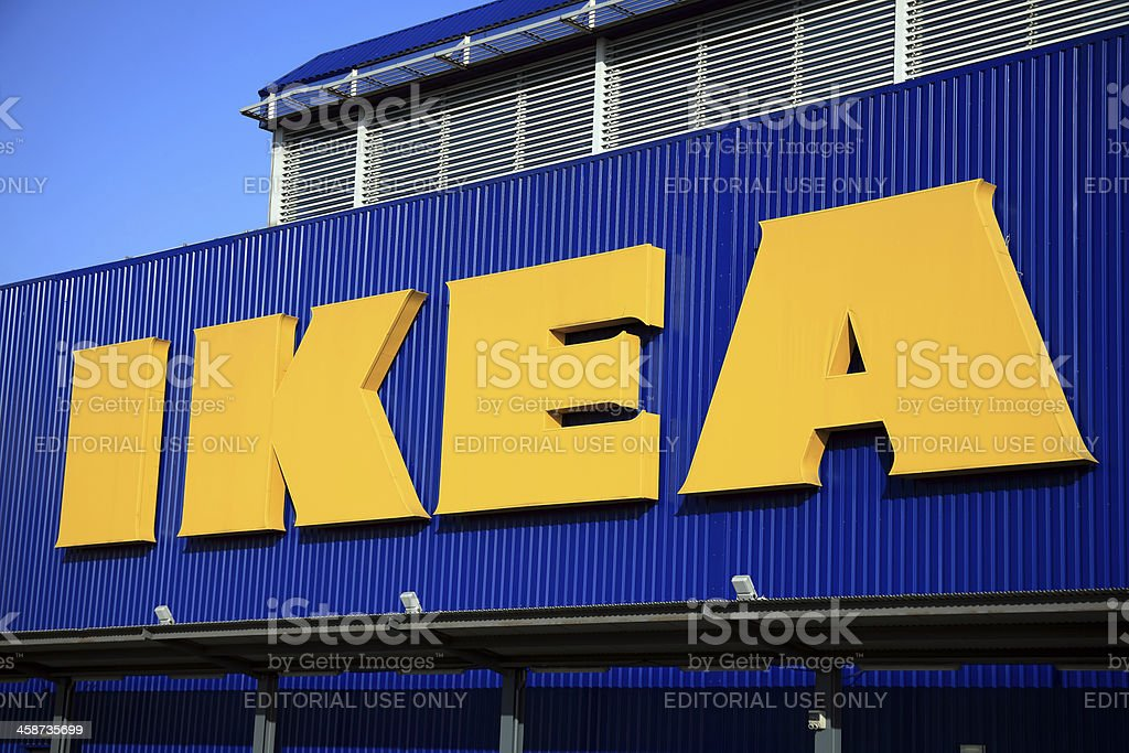Ikea Sign stock photo