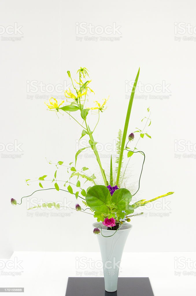 Ikebana stock photo