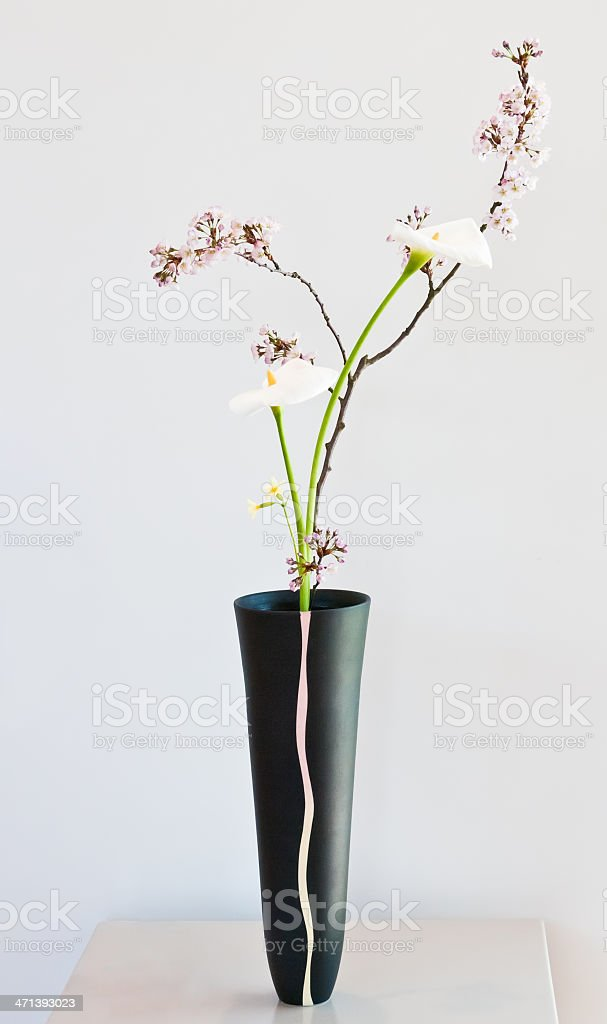 Ikebana - Shinputai stock photo