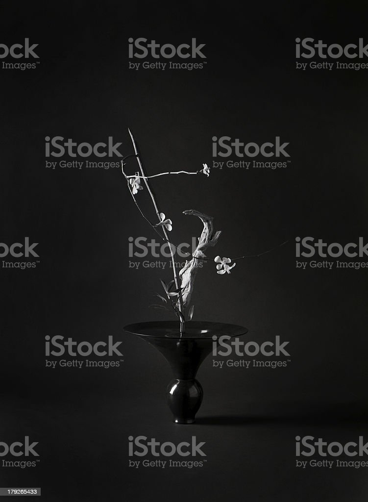 Ikenobo, Japanese Flower Arrangement stock photo
