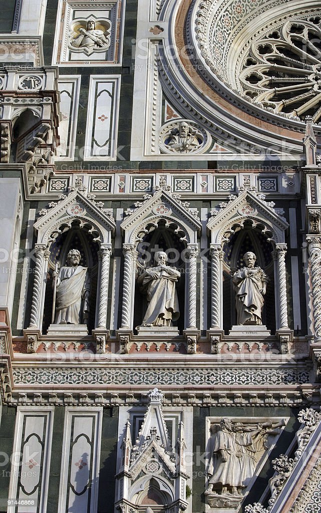 Il Duomo Cathedral Florence, Italy royalty-free stock photo