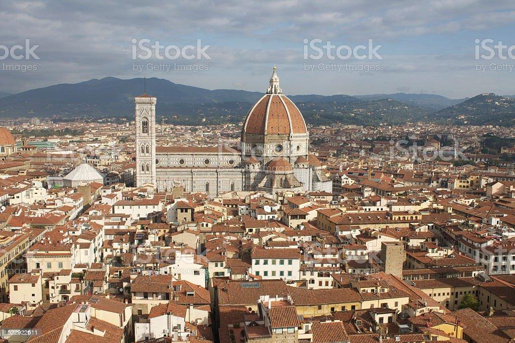 Il Duomo di Firenze stock photo