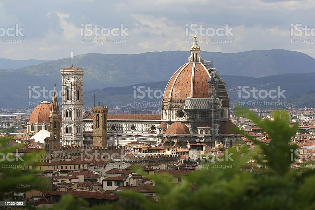 il Duomo in Florence, Tuscany Italy royalty-free stock photo