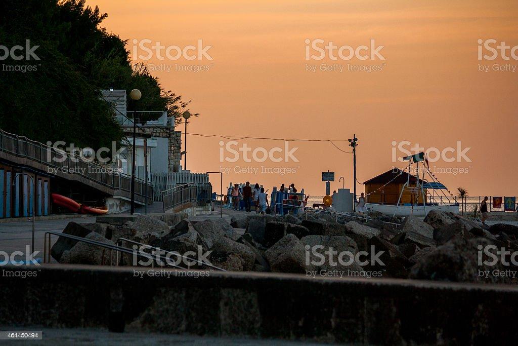 Il Passetto, Ancona, Marche, Italia stock photo