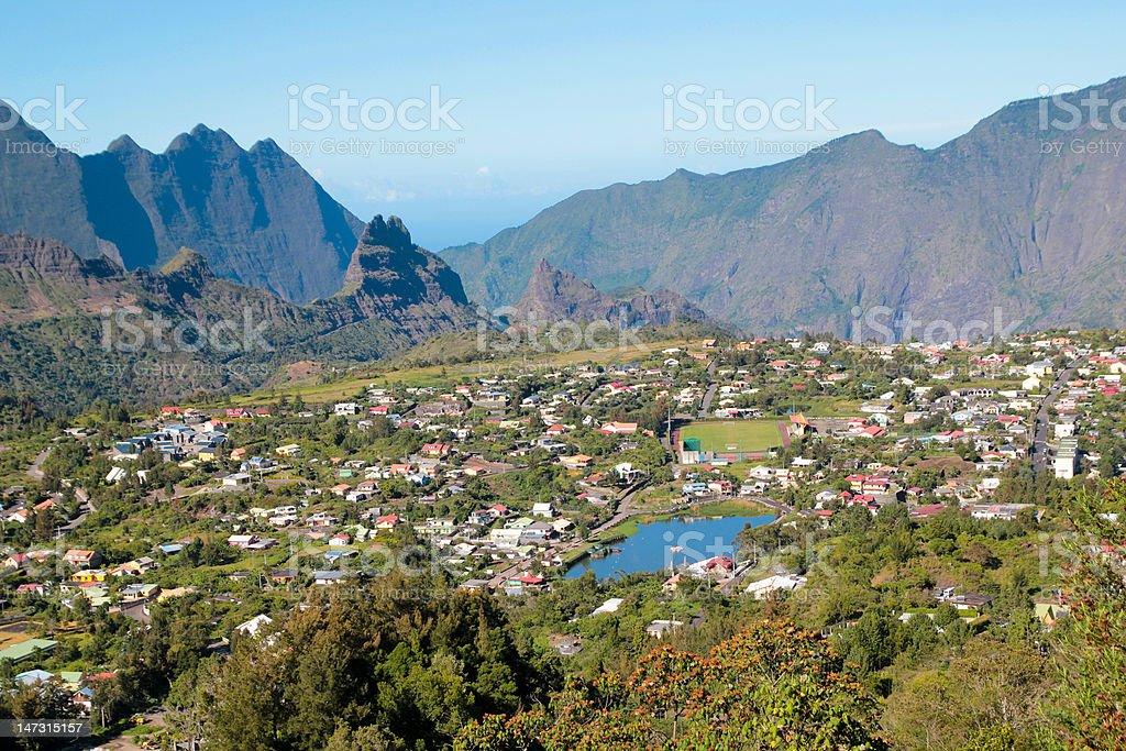 Ile de La Reunion stock photo