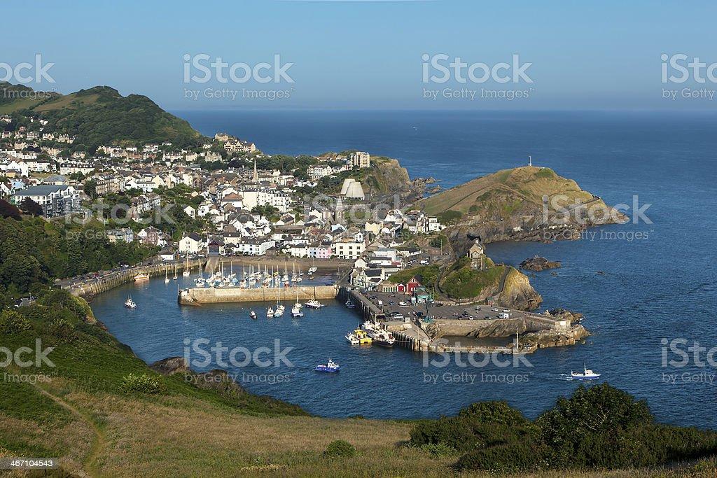 Ilfracombe, North Devon, England, UK stock photo