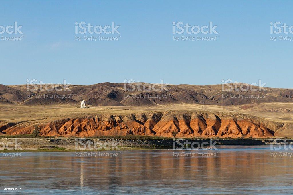Ili River stock photo