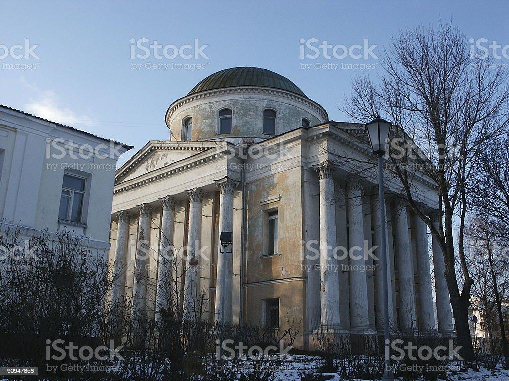 Iliynsko-Tihonovskaya church stock photo