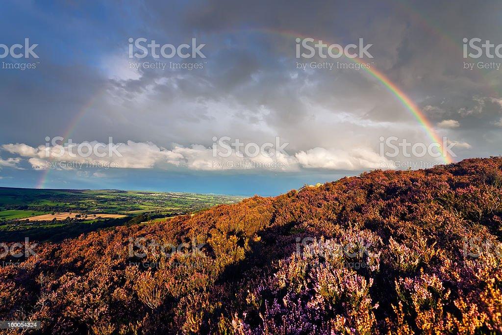 Ilkley Rainbow royalty-free stock photo