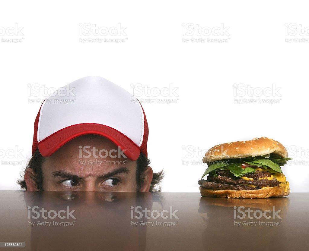 i'll eat you royalty-free stock photo