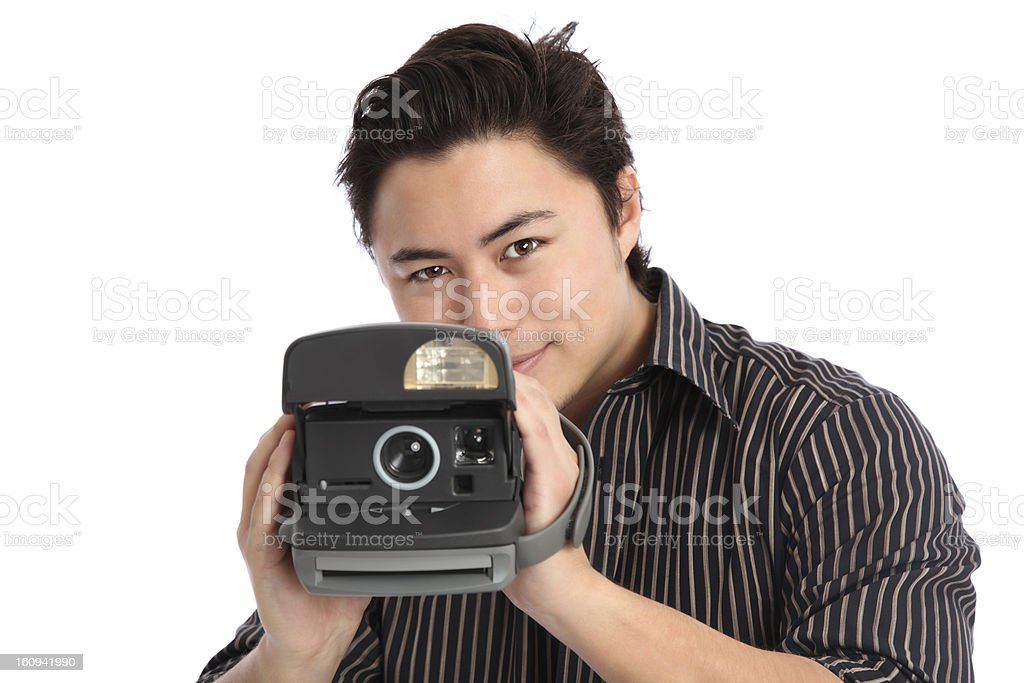Ill take your photo! royalty-free stock photo