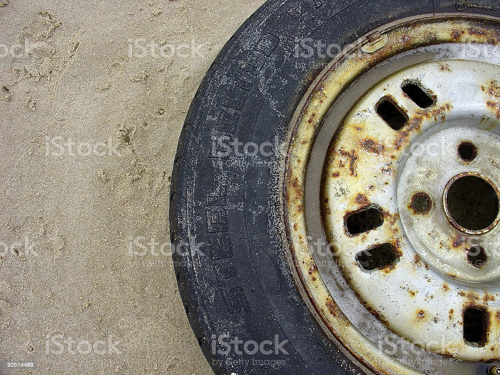 Illegal Dumping stock photo