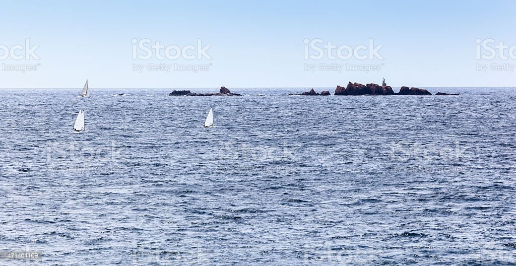 Illes Formigues stock photo