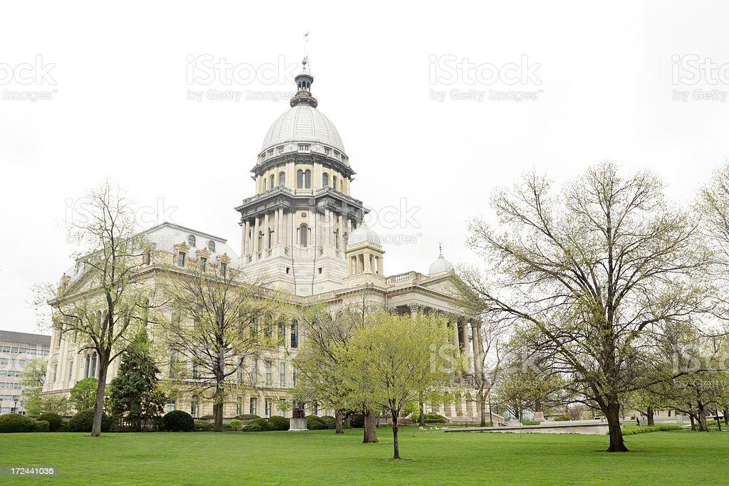 Illinois State Capitol stock photo