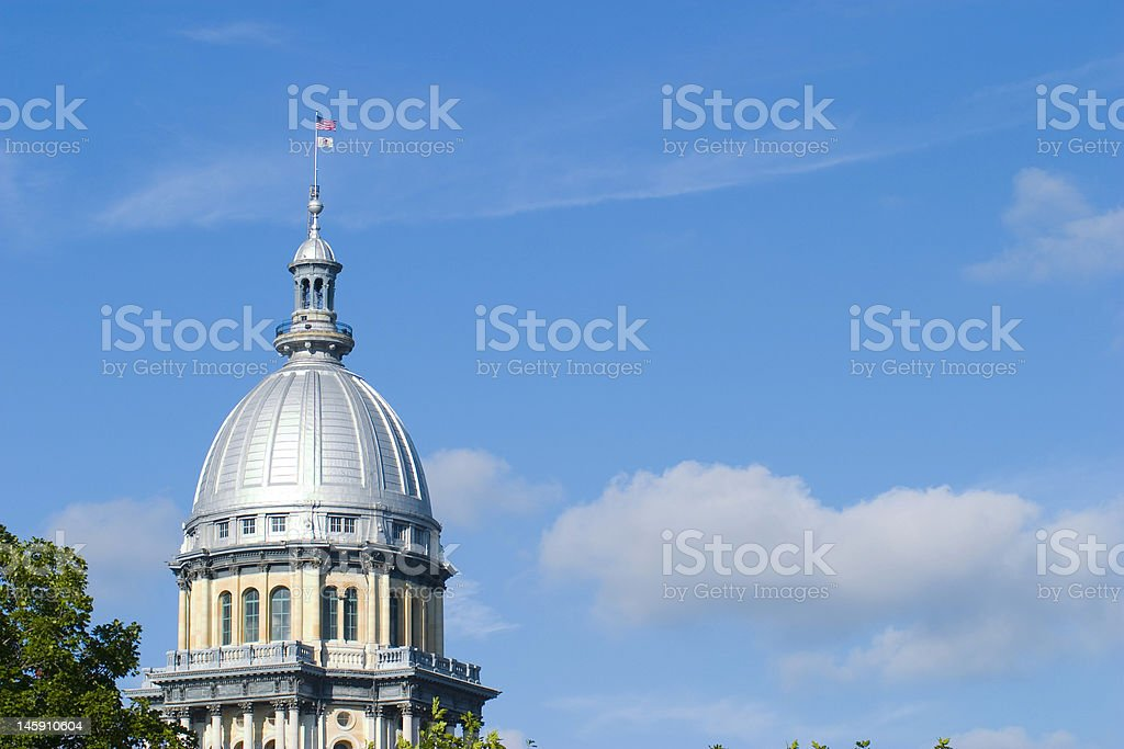 Illinos State Capitol stock photo