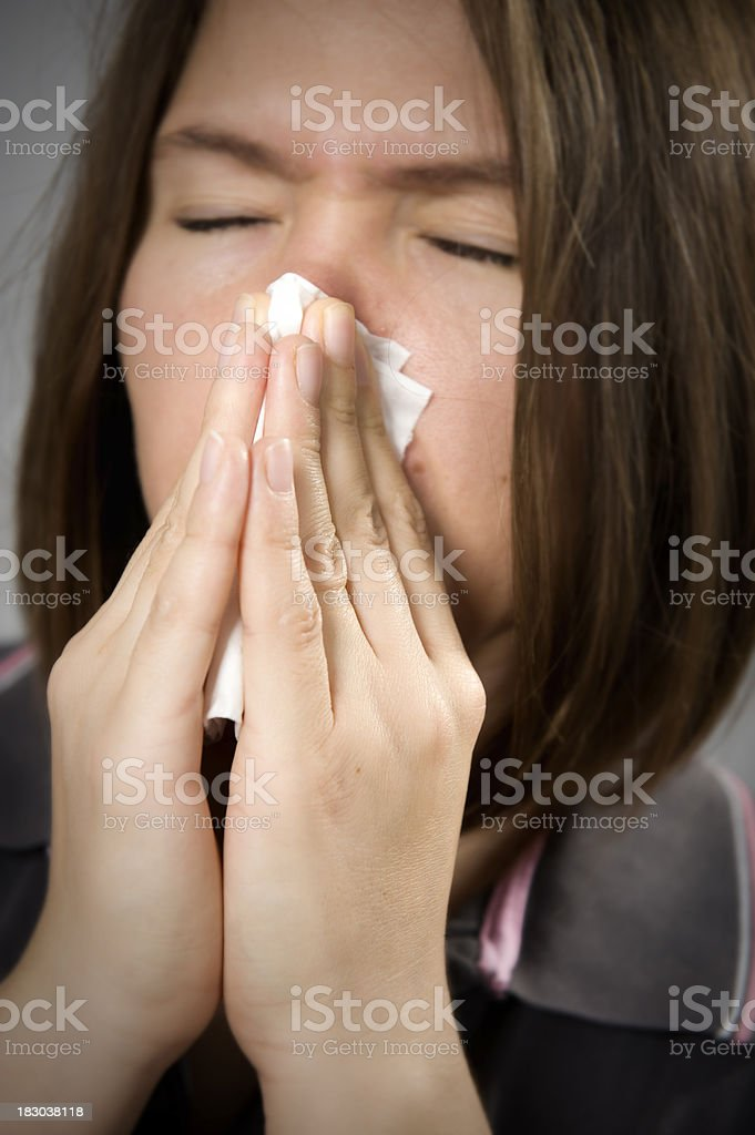 Illness royalty-free stock photo