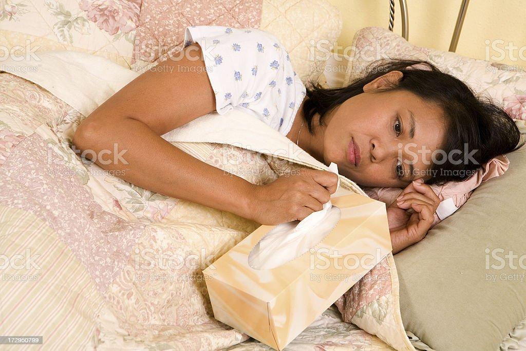 Illness Series royalty-free stock photo