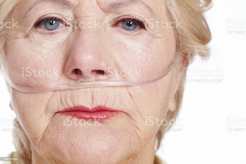 Illness takes its toll ... are you insured? royalty-free stock photo