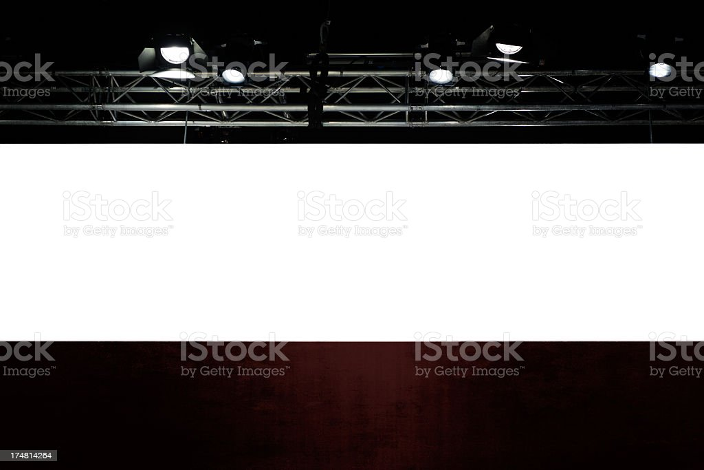 Illuminated background for your Copyspace royalty-free stock photo