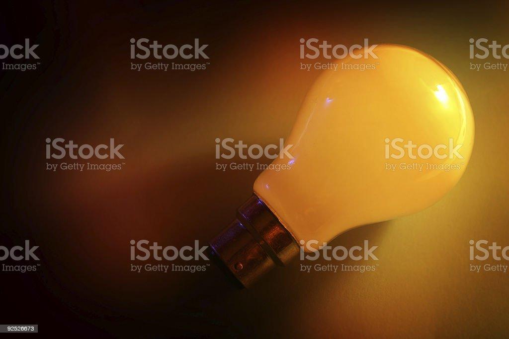 Illuminated Idea royalty-free stock photo