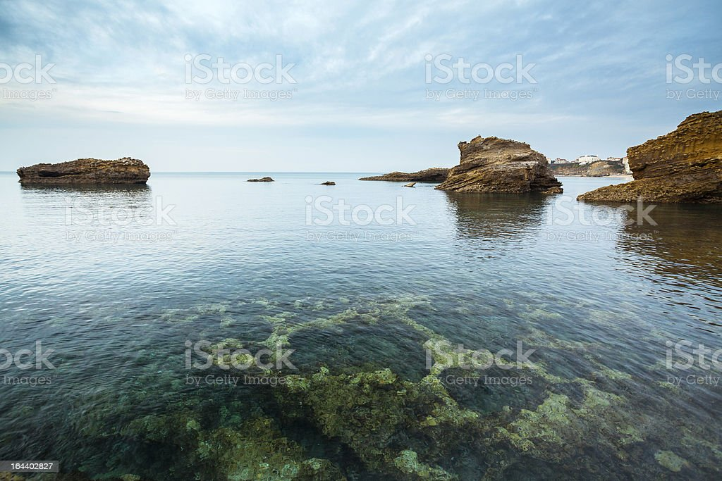 Illuminated Seascape royalty-free stock photo