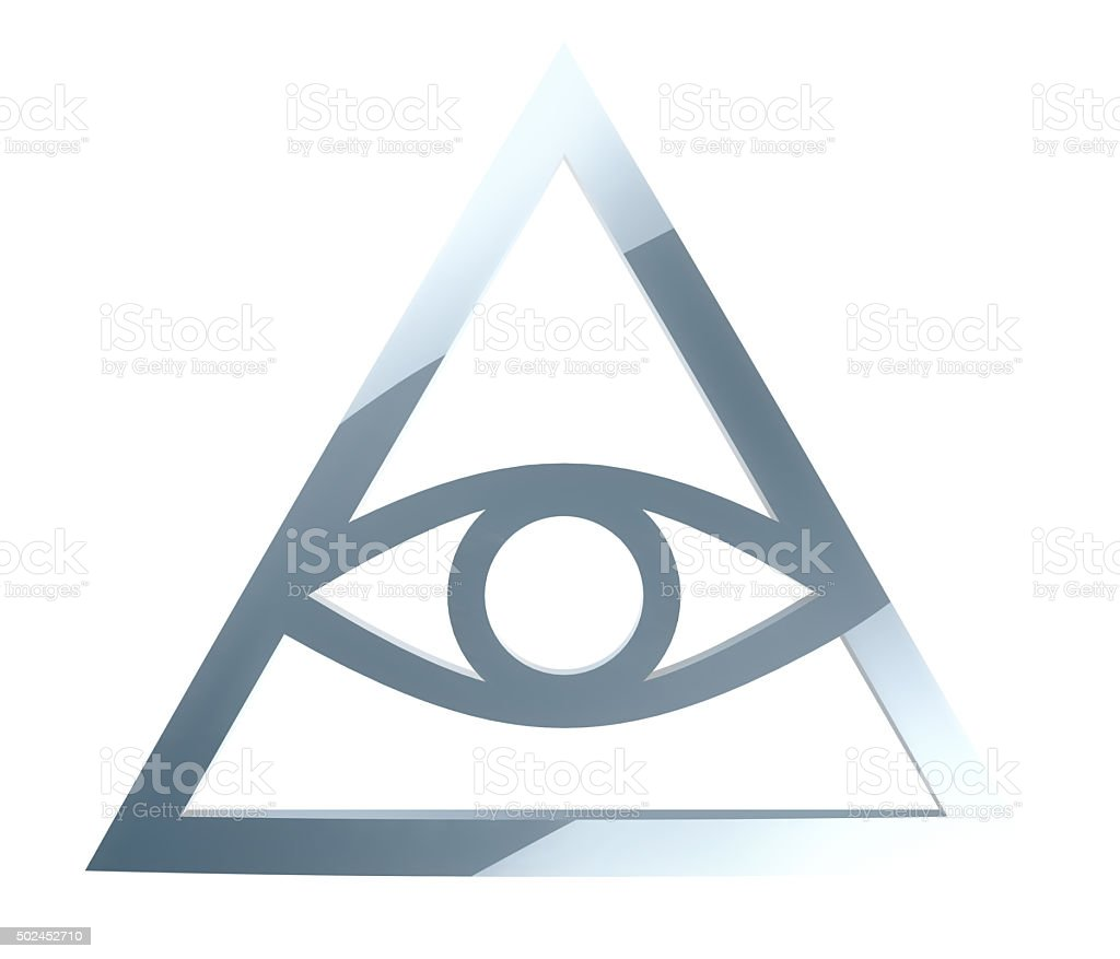 Illuminati Sign stock photo
