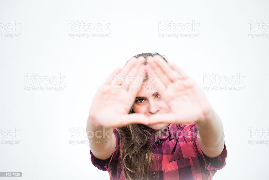 Illuminati symbol stock photo
