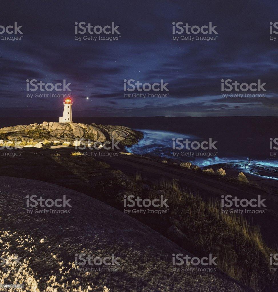 Illuminating the Night stock photo