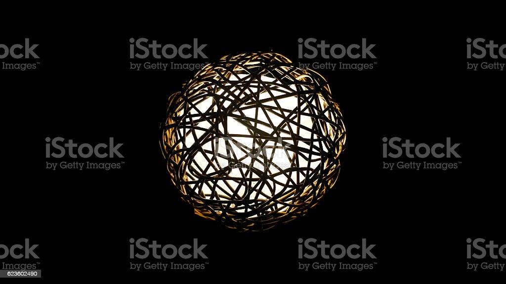 Illumination ball Lighting Decor stock photo