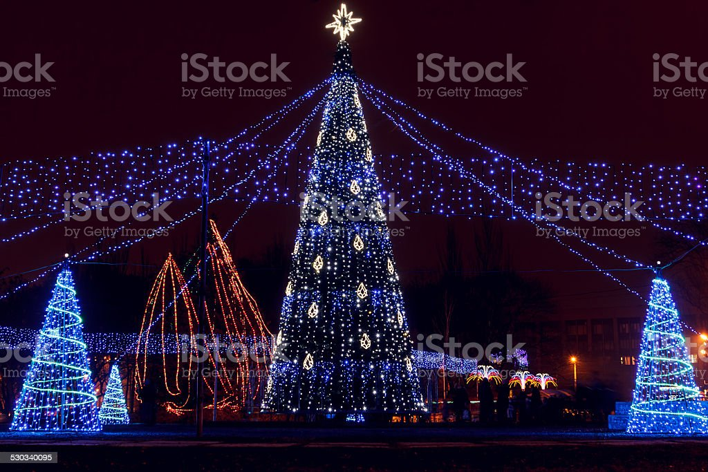 illuminations stock photo