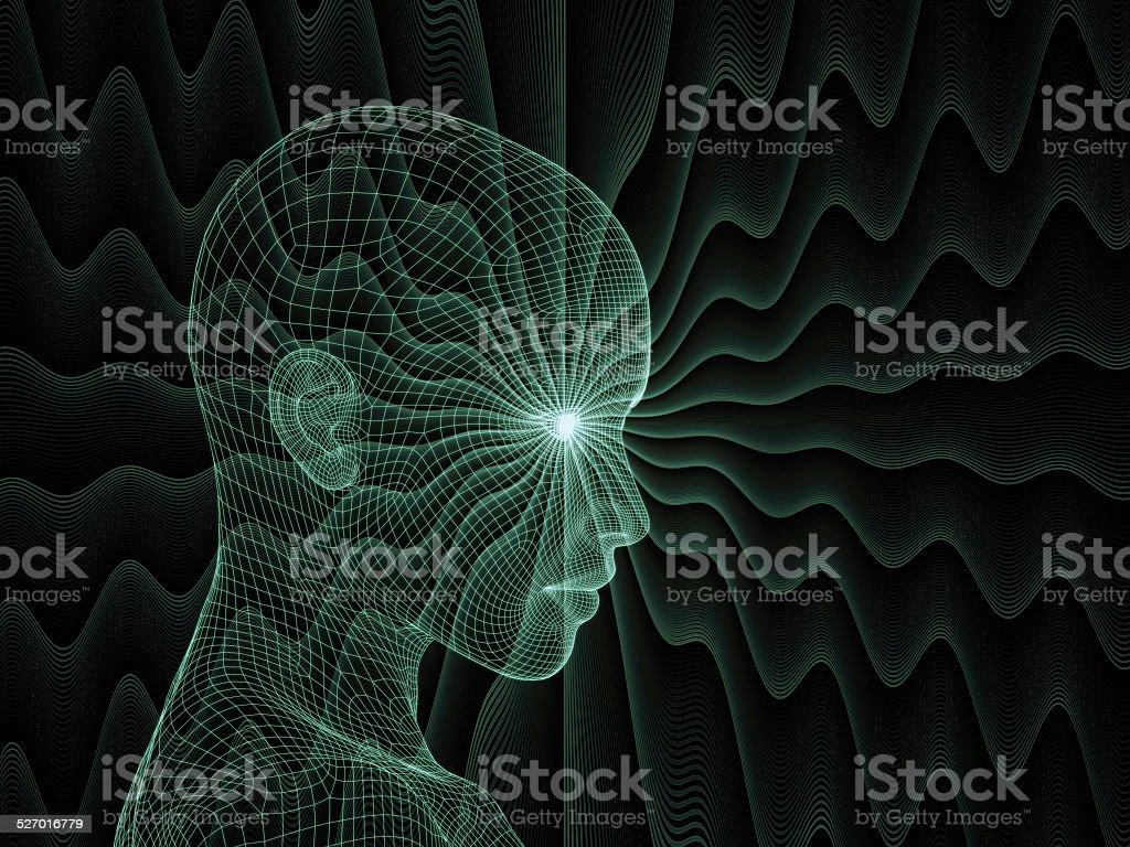 Illusion of Mind stock photo