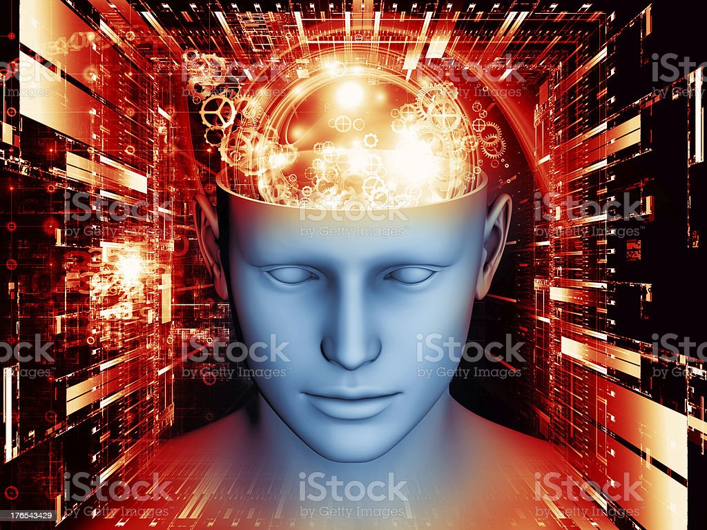 Illusion of the Mind royalty-free stock photo