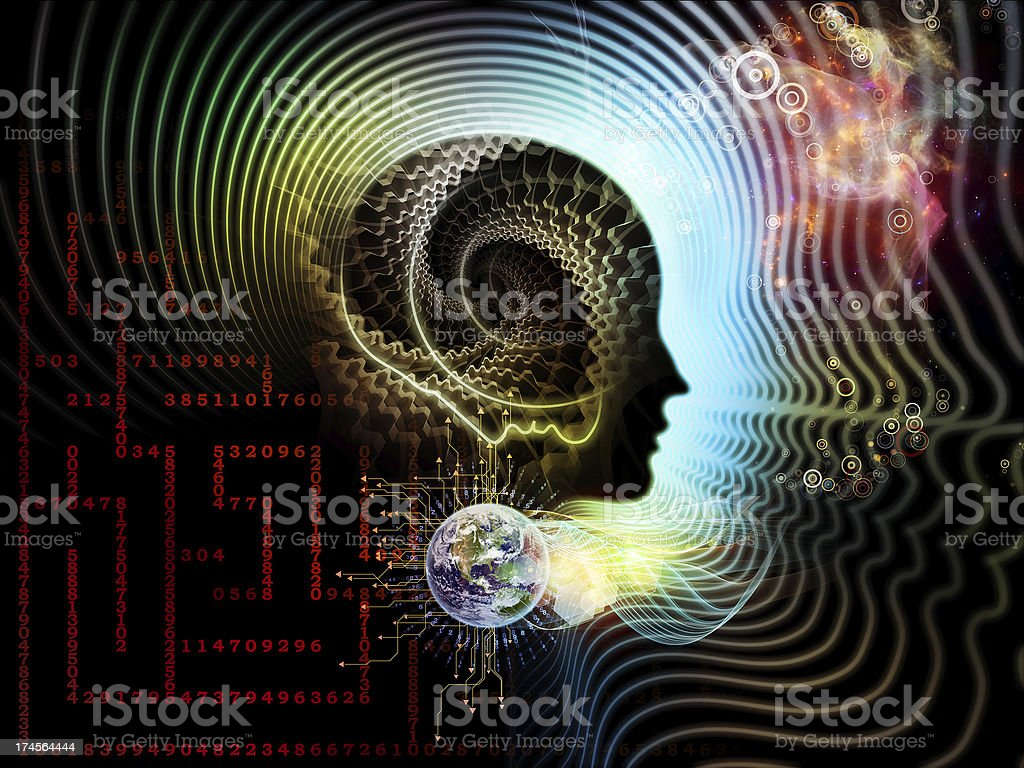 Illusions of Human Mind royalty-free stock photo