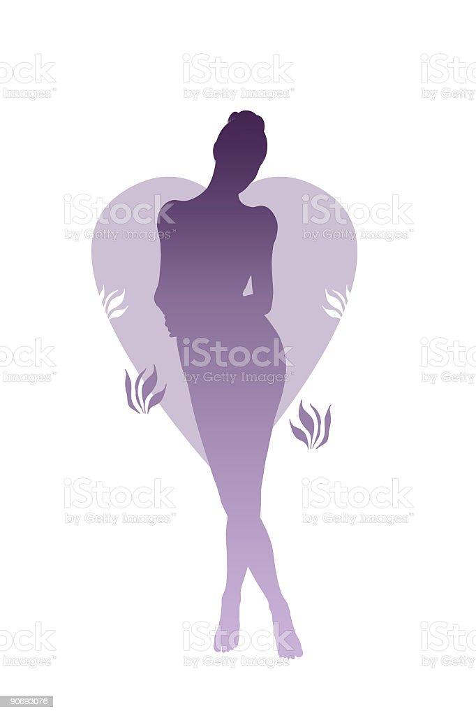 Illustration - Lonesome royalty-free stock photo