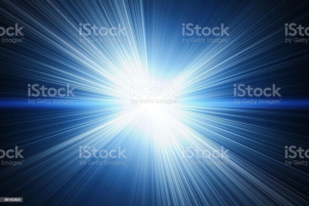 Illustration of a white solar flare flash stock photo