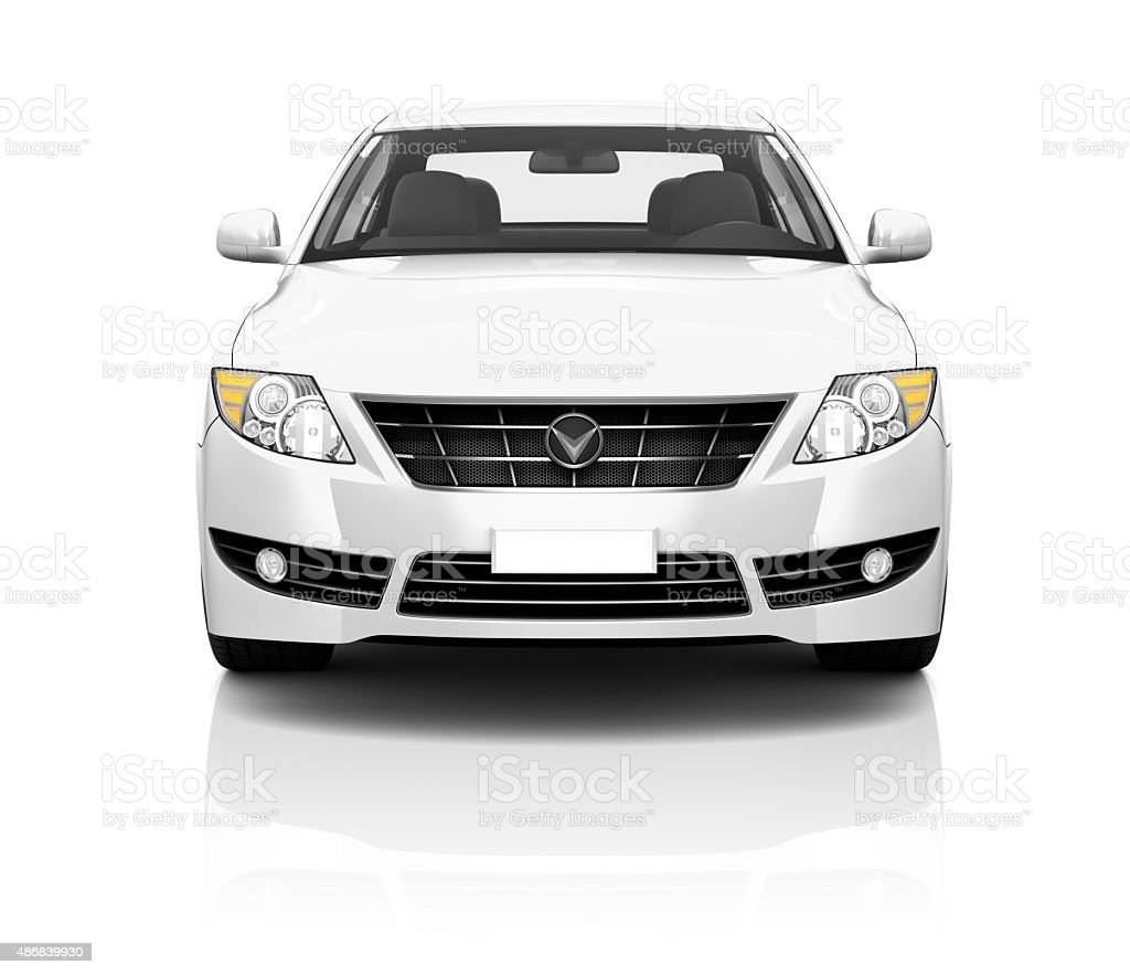 Illustration of Transportation Technology Car Performance Concep stock photo