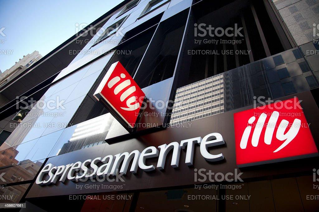 Illy Expressamente stock photo