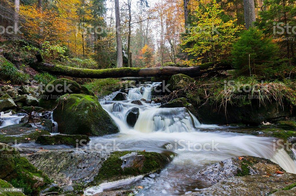 Ilsef?lle - Waterfall Brocken stock photo