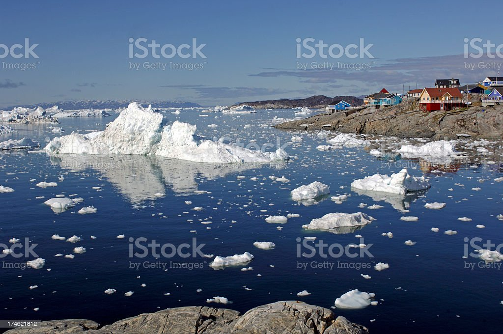 Ilulissat royalty-free stock photo